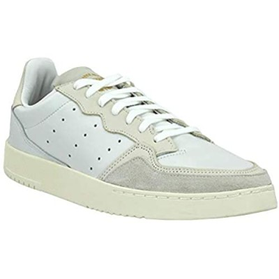 adidas Mens Supercourt Lace Up Sneakers Shoes Casual - White