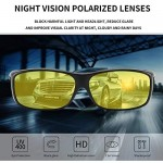 Night Driving Glasses Anti Glare Polarized HD Night Vision Glasses for Driving