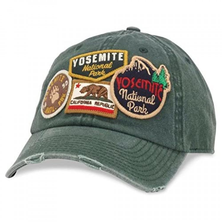 AMERICAN NEEDLE Iconic Trucker Ajustable Buckle Strap Hat (43910A-Parent)