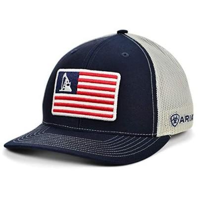 ARIAT USA Oil Rig Trucker Cap Blue