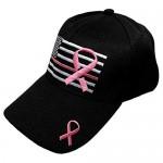 Black Duck Brand Embroidered Pink Lives Matter Breast Cancer Awareness Pink Ribbon Adjustable Baseball Hat/Cap