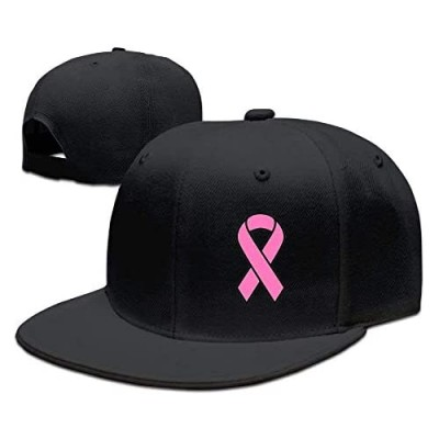 bowlife Adults Breast Cancer Funny Snapback Fitted Flat Bill Hats