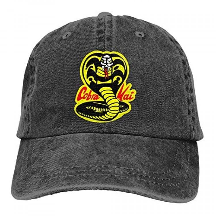 Cobra Kai Adult Cap Adjustable Cowboys Hats Baseball Cap