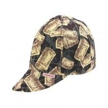 """Comeaux Caps 118-1000-6-7/8 Deep Round Crown Caps 6 7/8"""" Assorted Prints"""