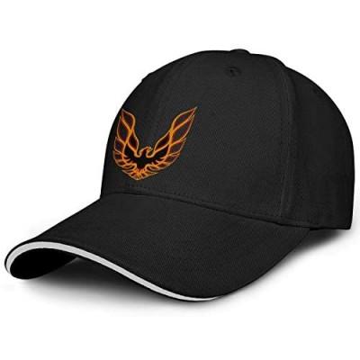 Fashion Trucker Caps for Mens Pontiac-Firebird-Logo-Adjustable Baseball Hat Cool Women's Golf Hats Embroidery Mesh Cap