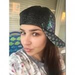 Maticr Unisex Bling Mermaid Scales Sequin Trucker Hats Adjustable Mesh Caps Baseball Party Hat