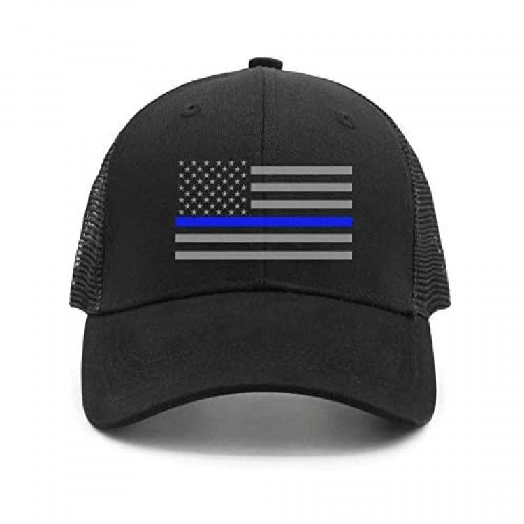 seventtynine Colorful USA Flag Unisex Trucker Hats Summer Hats Mesh Hats