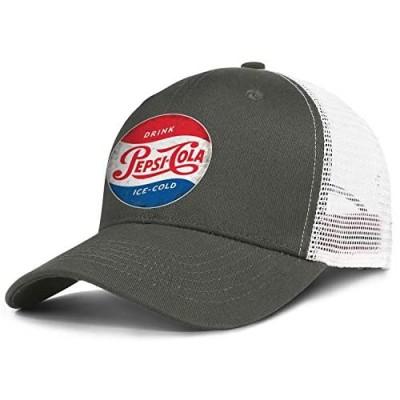 Unisex Vintage Cola Ice-Cold Hat Pretty Trucker Hat Baseball Cap Adjustable Cap for Men Women