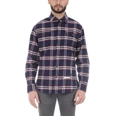JACHS New York mens Long Sleeve Flannel
