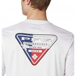 Columbia Men's Tall Terminal Tackle PFG State Triangle Ls