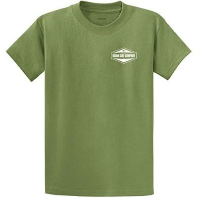 Koloa Hexagon 2-Side Logo Cotton T-Shirts in Regular Big and Tall Sizes