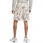 Nike Men's Sportswear NSW Club Shorts Camo (Olive Grey/Summit White/White)